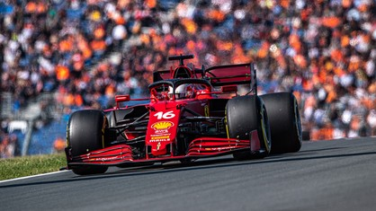 Scuderia Ferrari delivered a good team result in qualifying for the Dutch Grand Prix, at the end of a day that was far from easy.