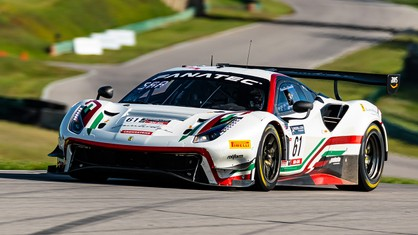 Riding a perfect season in GT World Challenge America powered by AWS, Ferrari has accumulated enough points to capture the 2021 Am class championship.