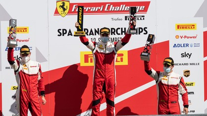 Winner of the Trofeo Pirelli Am race, Hugo Delacour, spent the race just behind the leaders of the overall standings, crossing the line in the slipstream of Luka Nurmi and Frederik Paulsen, fourth and fifth.