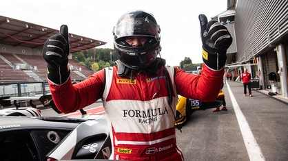 It turned out to be a superb weekend for Peter Christensen at Spa-Francorchamps, with the driver securing a delightful double to win both Race 1 and Race 2.