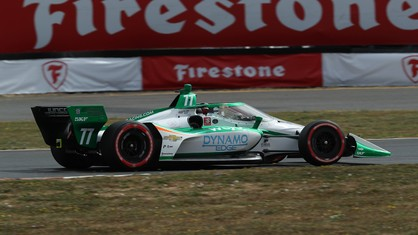 The English Ferrari Driver Academy driver took part in his first ever IndyCar race at Portland last weekend. After qualifying well, he had to retire because of a problem with the car.