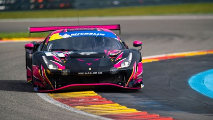 Round five of the Le Mans Cup will take place on Saturday 18 September, at Spa-Francorchamps, with two Ferrari 488 GT3 Evo 2020s lining up on the grid.