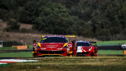 Eight Ferraris, six in the GT3 class and two in the GT Cup, will line up for the Italian GT Endurance Championship at Vallelunga over the weekend, ready to play a leading role and make a decisive push for the overall title.
