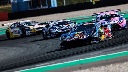 Having moved to the top of the DTM standings after Race-1, Liam Lawson extended his championship lead with second place in Race-2 at Assen.