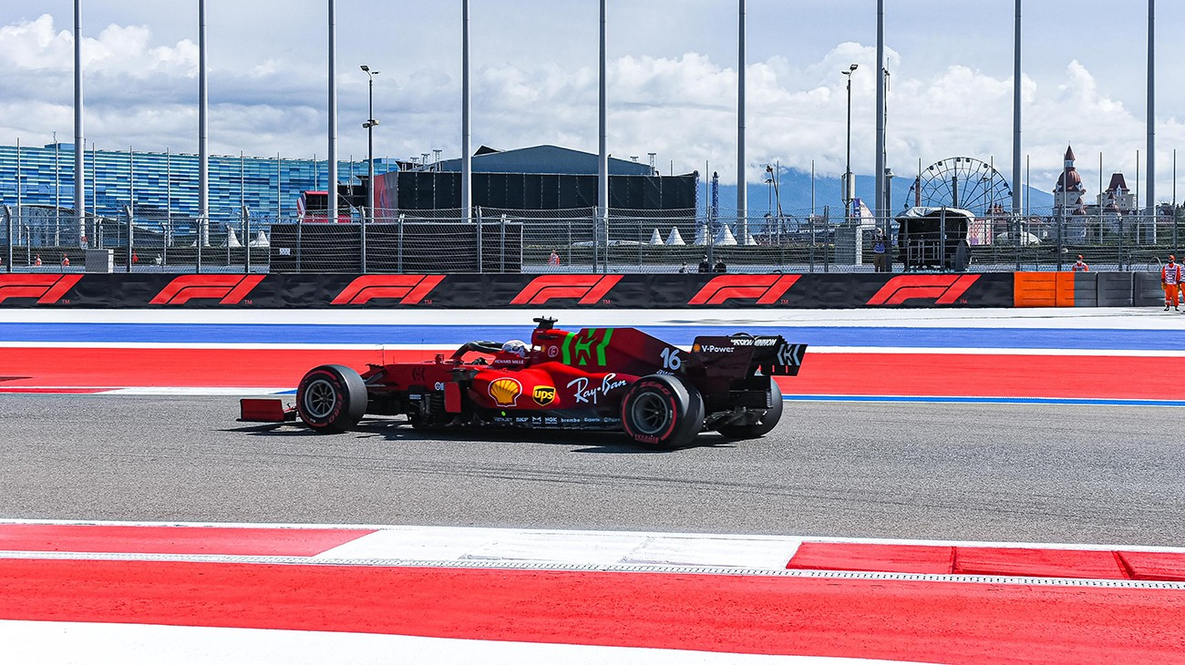 In the first free practice session for the Russian Grand Prix, Scuderia Ferrari Mission Winnow set the fourth fastest time with Charles Leclerc and the seventh with Carlos Sainz.