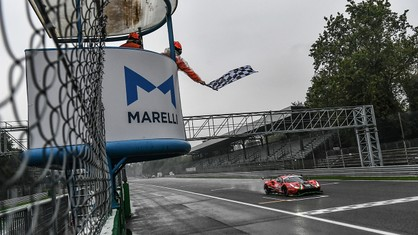 Two days of racing and thrills at Monza took place under completely different weather conditions that made the International GT Open event even more exciting.