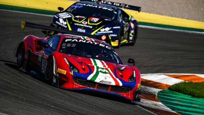 The dreams of glory for AF Corse's Ferrari 488 GT3 Evo 2020 faded away in Valencia in the final round of the GT World Challenge Europe powered by AWS Sprint Cup.