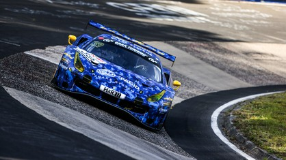 Positive comeback for the Racing One outfit who placed their Ferrari 488 GT3 Evo 2020 on the podium in the eighth round of the Nürburgring Endurance Series.