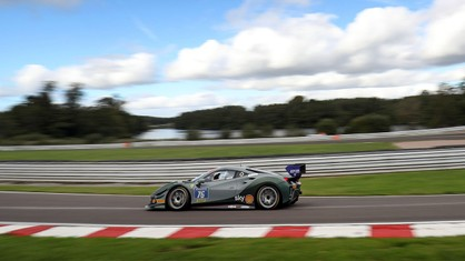 After a debut on the podium at Snetterton, Faisal al Faisal was once again among the protagonists on-track at Oulton Park, posting in a notable fourth spot.