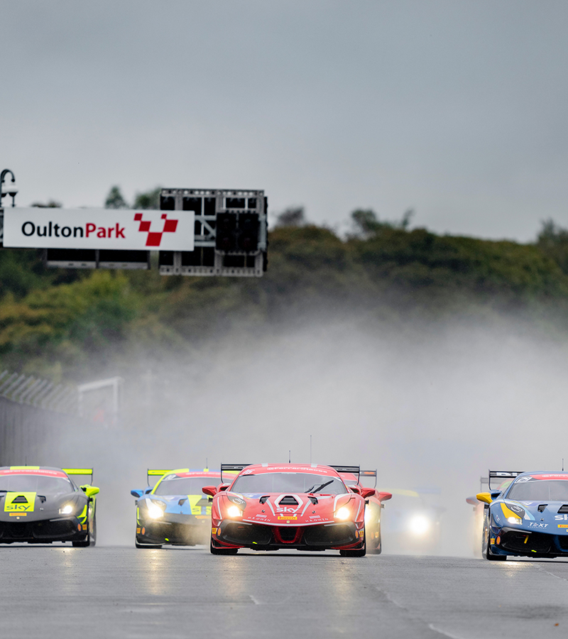 The third season of the Ferrari Challenge UK came to a close with the fifth round of the Prancing Horse national series, held this weekend at Oulton Park.