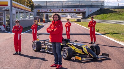 Late this afternoon saw the conclusion of the evaluation camp for the 2021 edition of the Ferrari Driver Academy's Scouting World Finals.