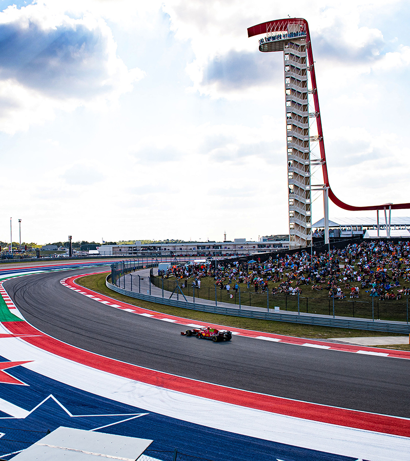 The best thing about Friday in Austin was the crowd, as so many fans turned up to pack the grandstands at the Circuit of the Americas, right from the start of free practice.