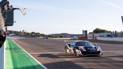 With their triumph in the 4 Hours of Portimão, Miguel Molina, Matteo Cressoni and Rino Mastronardi, along with Iron Lynx, became champions in the European Le Mans Series.