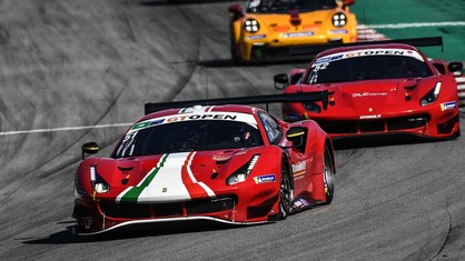Double podium for AF Corse in the GT Open