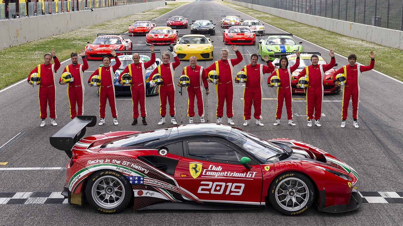 Club Competizioni Gt Opening Event For Ferrari Racing Icons At Mugello