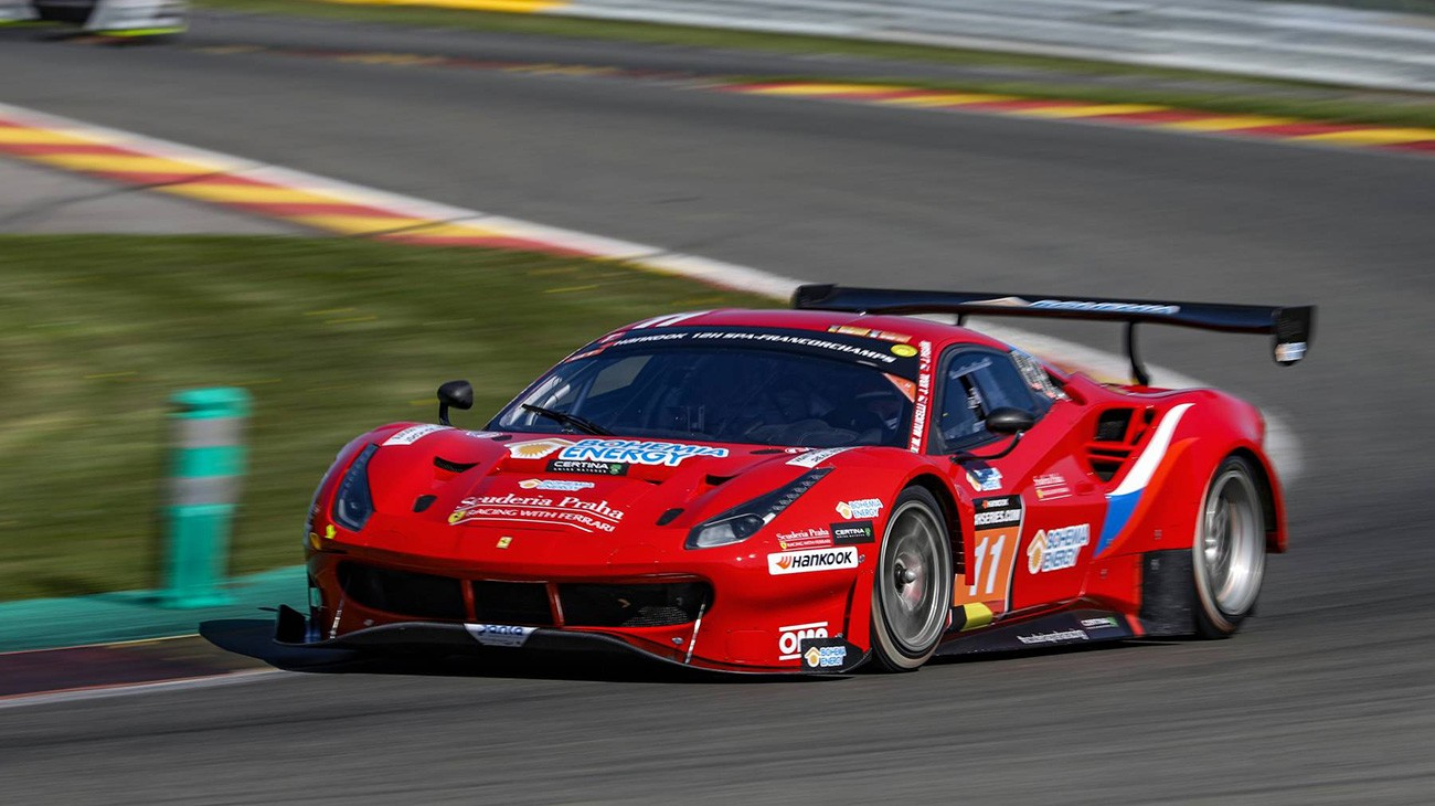 24H Series - Scuderia Praha triumphs at Spa-Francorchamps