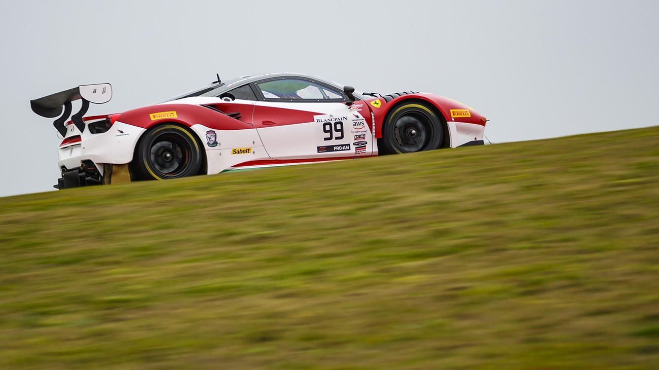 Ferrari Teams Return to Blancpain GT World Challenge America Action at VIR