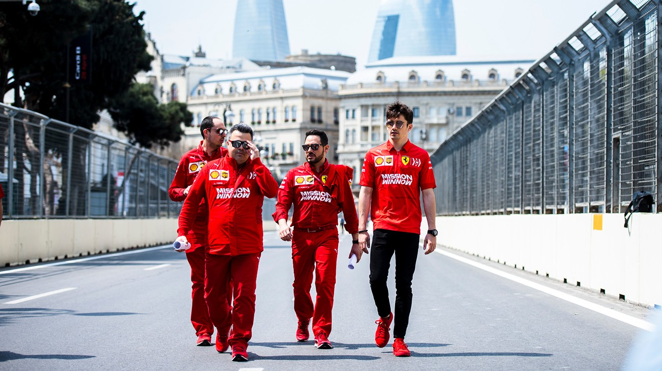 "Azerbaijan Grand Prix - ""In Baku to do well"""