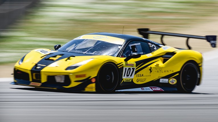 Ferrari Challenge Na Thrilling Races Place Exclamation On Ferrari Racing Days