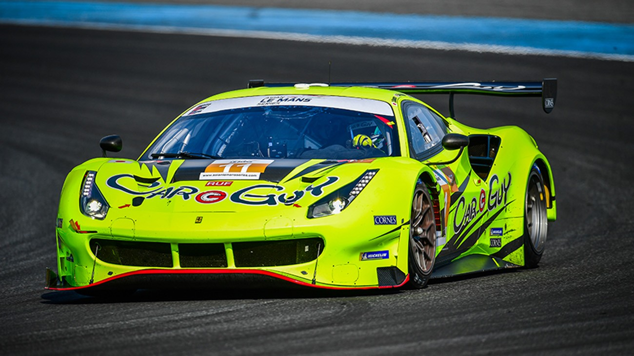 The colourful 2019 Ferrari 488 racers