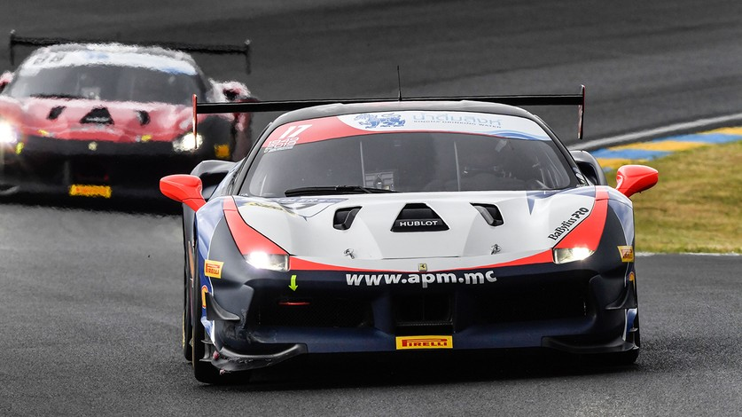 Ferrari Challenge Europe at Le Mans - Prette in pole position in front of the 24 Hours fans