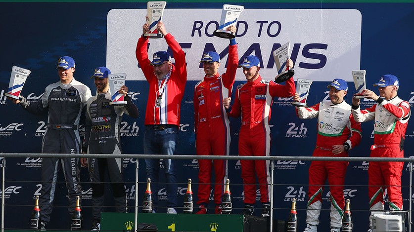 Le Mans Cup - Ferrari First and Third in Race 1 of Road to Le Mans