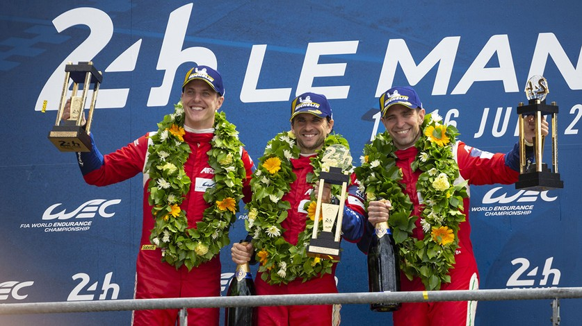 WEC - Ferrari triumphs in the 24 Hours of Le Mans