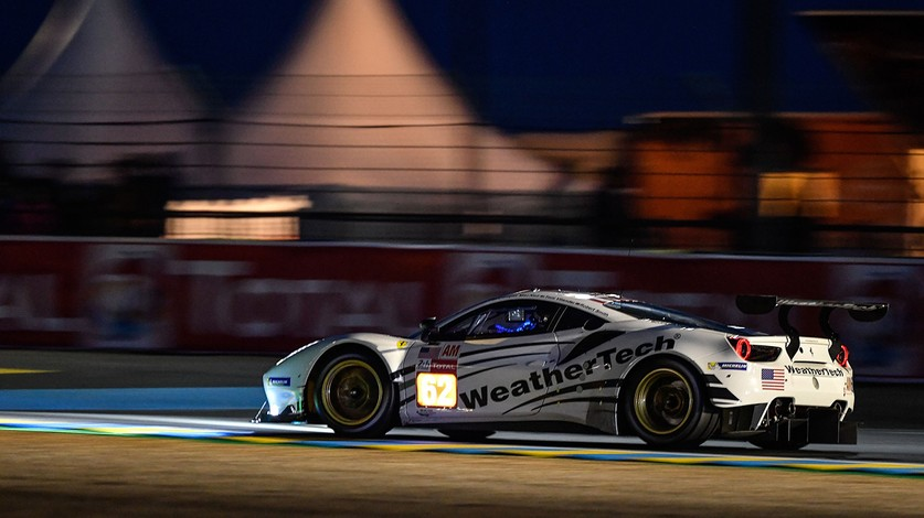WEC - Two Ferraris on the podium in LMGTE Am at Le Mans following post-race scrutineering