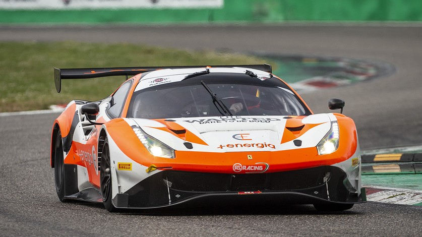 Five Ferraris at Imola for CIGT Sprint