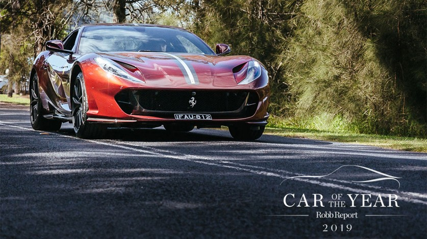 Ferrari 812 Superfast crowned Robb Report Australia & New Zealand 2019 Car of the Year