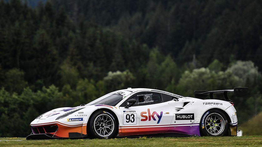 International GT Open - Another sixth place for Tempesta Racing at Spielberg