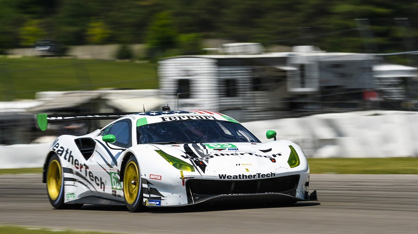 IMSA - Ferrari Takes to Lime Rock 'Bull Ring' in Northeast Grand Prix