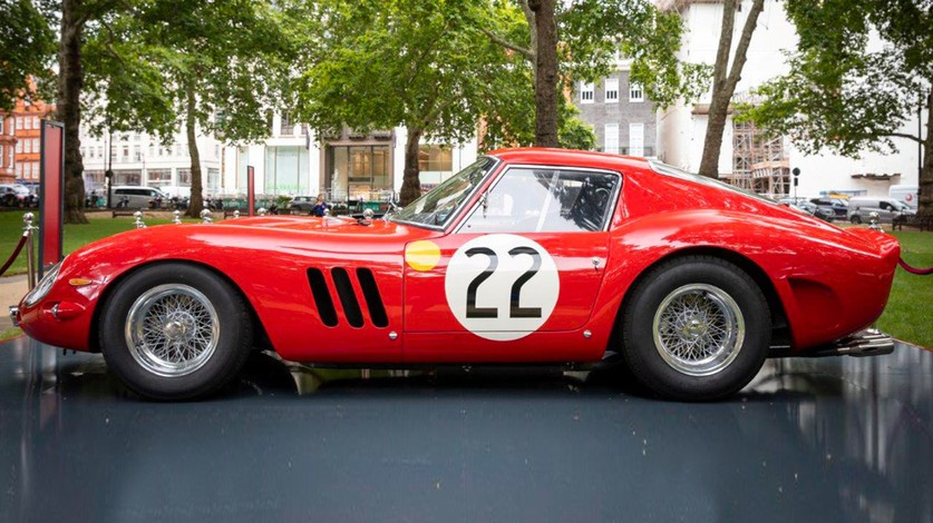 Rare Ferraris at Berkeley Square