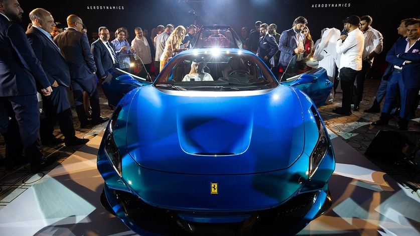 Ferrari F8 Tributo arrives in the UAE