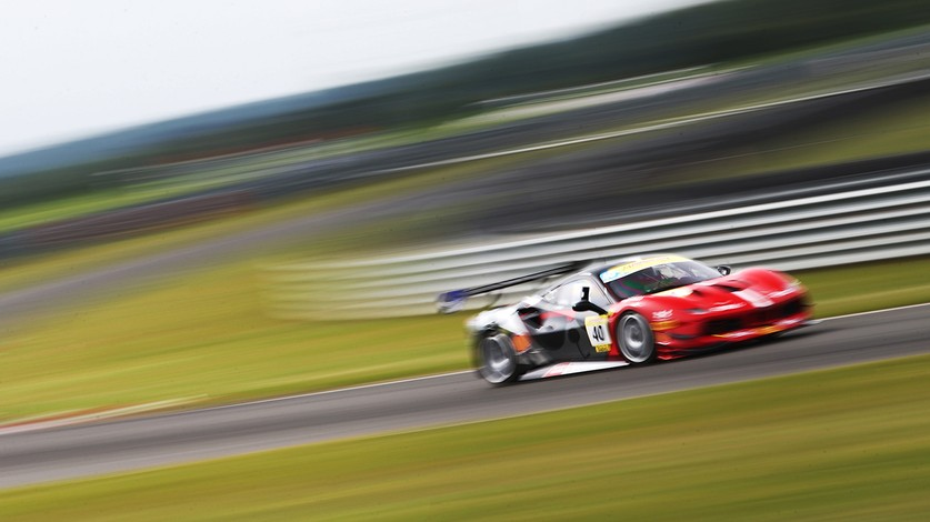 Ferrari Challenge Uk To Race At Croft