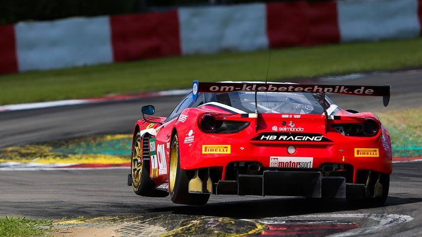 ADAC GT Masters - Seventh place in Race 1 at Nürburgring for HB Racing