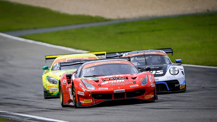 ADAC GT Masters - Best finish of the season for HB Racing