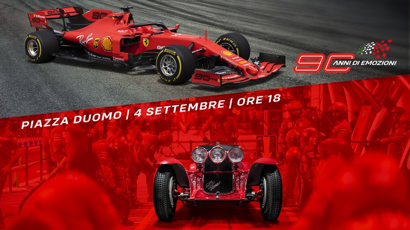 90 years of emotion with ACI and Ferrari