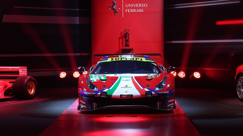 24 Hours of Le Mans takes centre stage at Universo Ferrari