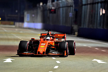 Singapore Grand Prix - Practice 2: Seb third, Charles sixth