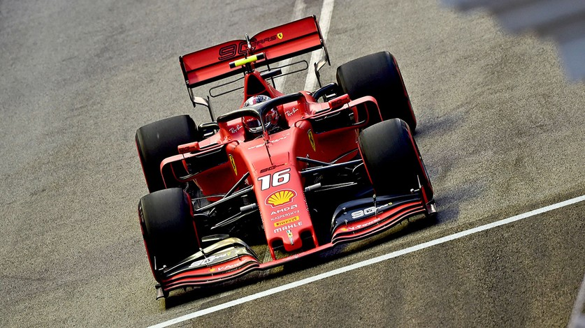 Singapore Grand Prix - Practice 3: Charles fastest, Seb third