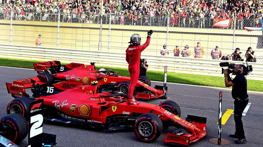 Russian Grand Prix - Fourth consecutive pole for Charles