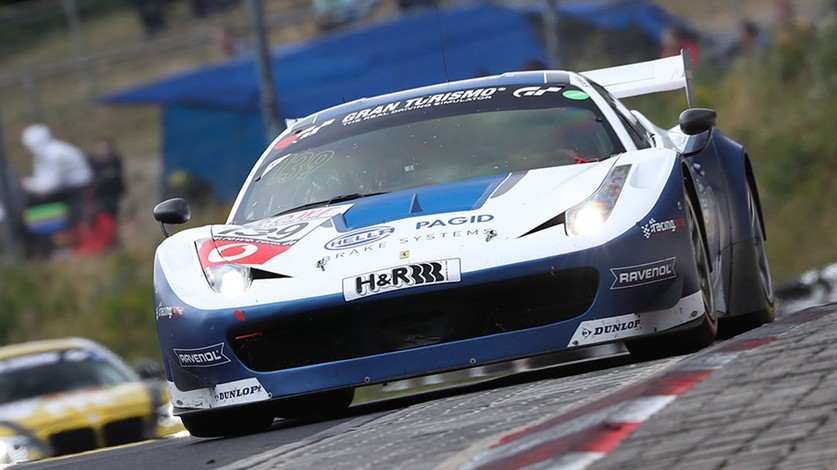 Three-in-a-row for Hella Pagid in the VLN