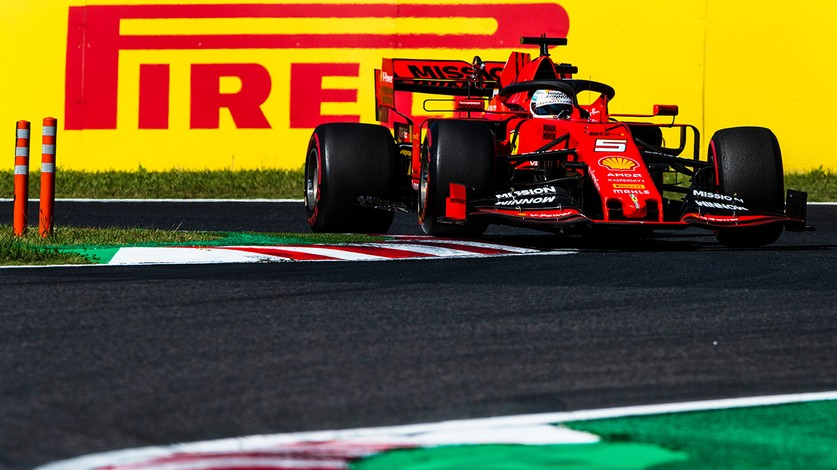 Japanese Grand Prix - Seb 2nd, Charles fights back to 6th
