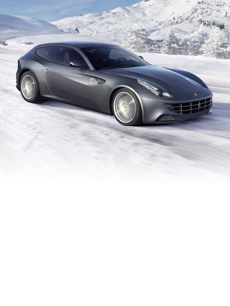 Ferrari FF: A four-seater that utterly changes the whole GT sports car concept, hailing nothing short of a revolution in the automotive world.