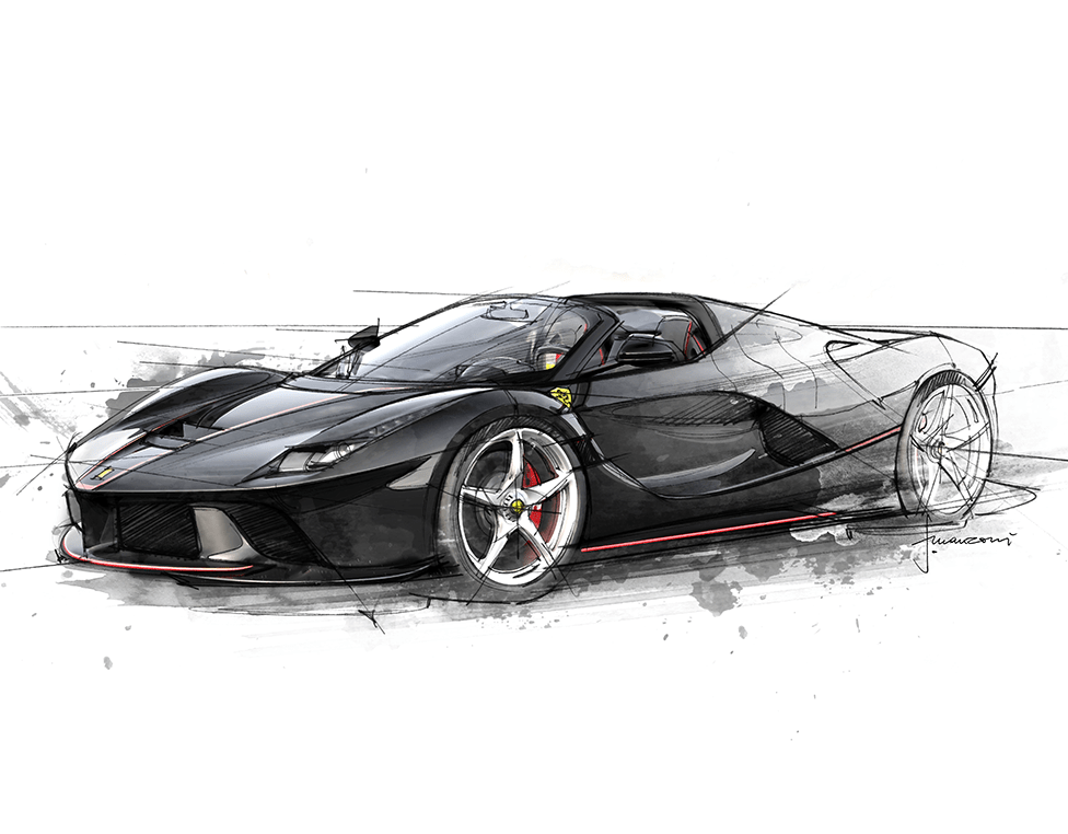 LaFerrari Aperta - Design