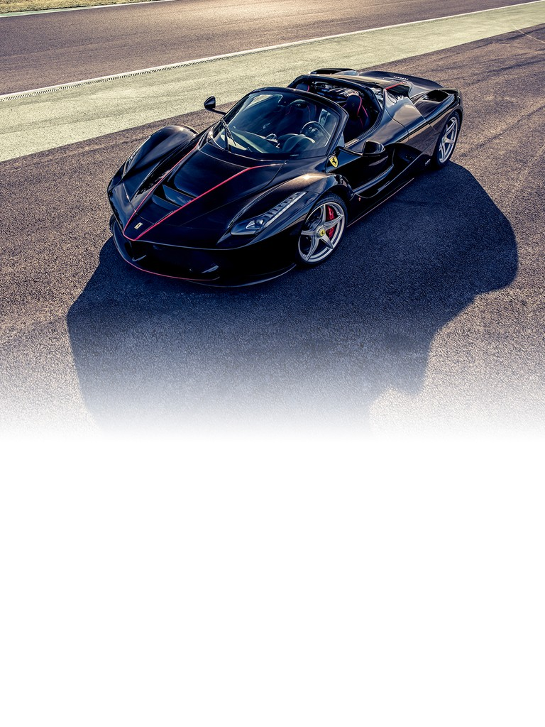 Designed for Ferrari's most passionate clients, the LaFerrari Aperta is the new limited-edition special series model, and just a few examples – all of them already accounted for - of this spider version of the acclaimed LaFerrari supercar will be built