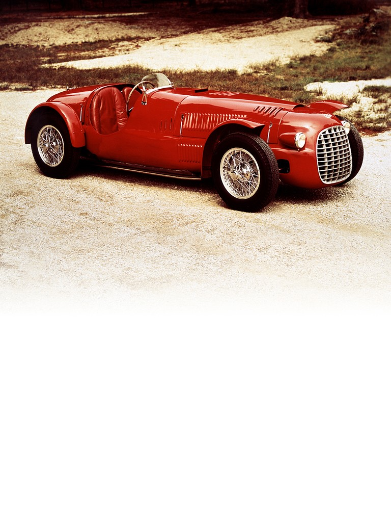 The Ferrari Tipo 166 Inter Sport two-litre engine spawned a whole range of sports and single-seater models.