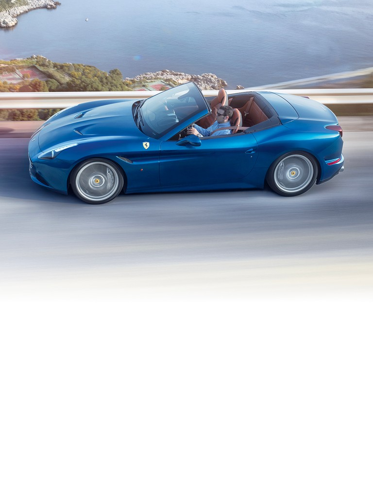 The California T is a brilliant expression of Ferrari's sporty DNA, while its retractable hard top (RHT) and 2+ configuration, amongst other features, make it supremely versatile.
