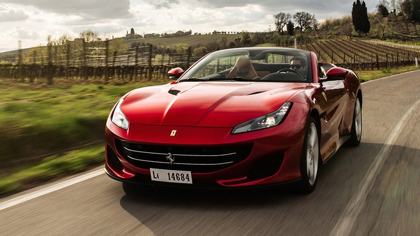 Portofino: great versatility and driving pleasure
